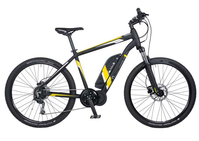 EBCO MH5 eBike with Red/Yellow Frame