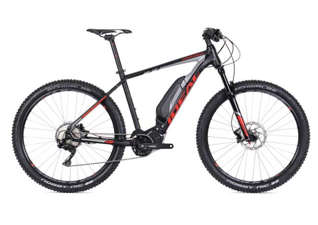 Powerful Ideal Traxer E 627 e10 eMTB the best and powerful eMTB on the market - silver frame