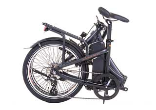 Raleigh Array eBike with Black Step-Over Frame