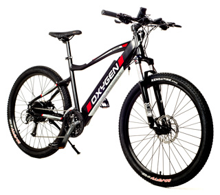 Roodog S-Cross MTB with black frame