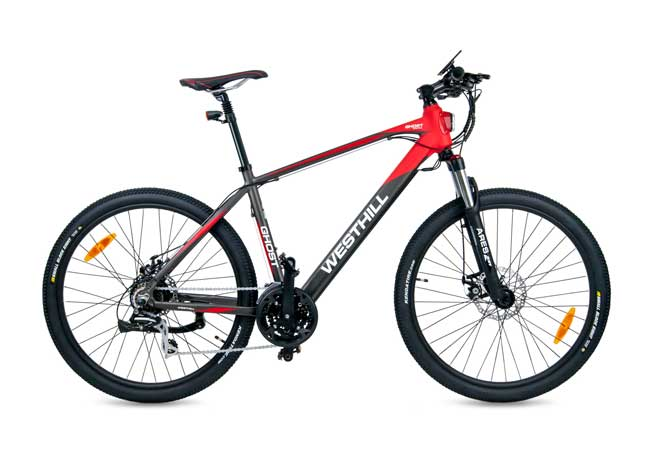 Westhill Energise Crossbar City Cruiser eBike with Black Frame
