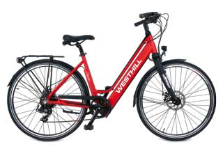 Westhill Classic Urban Tourer with Red Frame