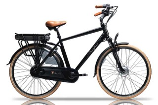 The beaufort Richardo eBike, a comfortable to ride step-over eBike