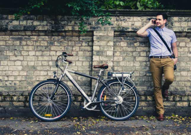 Roodog Tourer for around the town or town-to-town, affordable eBike with a 30 mile range