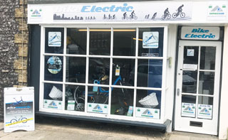 Bike Electric Showroom in Swaffham, Norfolk
